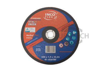 Tarcza do cięcia STAL+INOX 230×1,9