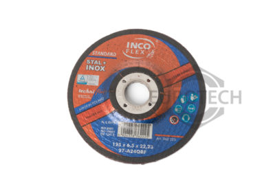 Tarcza do szlifowania STAL+INOX 125×6,5